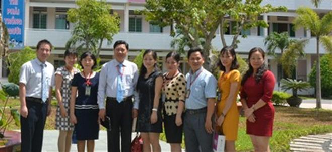A working visit of Guangxi Normal University, China to Dong Thap University