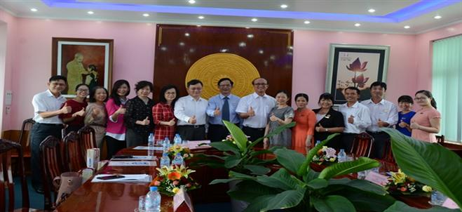 A visit of the delegation from Ministry of Education of The Republic of China (Taiwan)