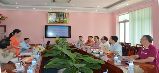 A visit of the delegation from National Chiao Tung University, Taiwan